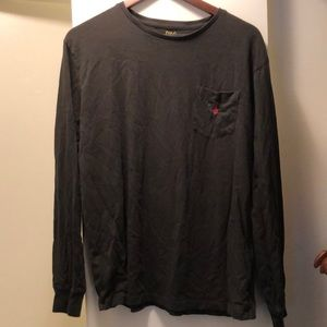 Polo Ralph Lauren black long sleeve pocket